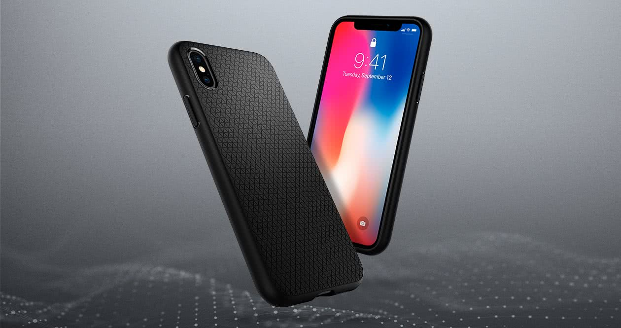 pictures of iphone 1 spigen apple iphone x xs liquid air black 057cs22123 15860