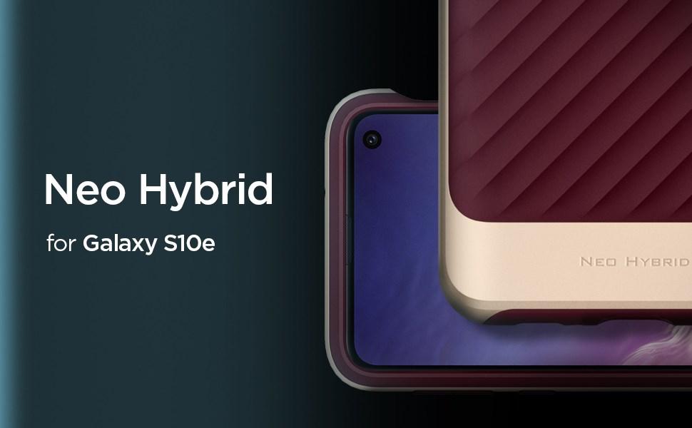 SPIGEN NEO HYBRID GALAXY S10E - BURGUNDY (609CS25847)
