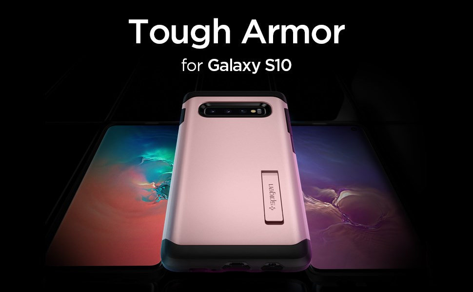 SPIGEN TOUGH ARMOR GALAXY S10 - ROSE GOLD (605CS25807)