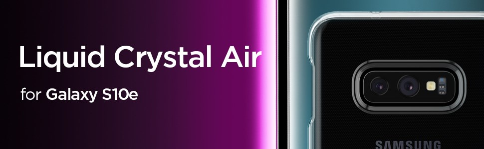 SPIGEN - Samsung Galaxy S10+ Case Liquid Crystal, Glitter Crystal (606CS25762)