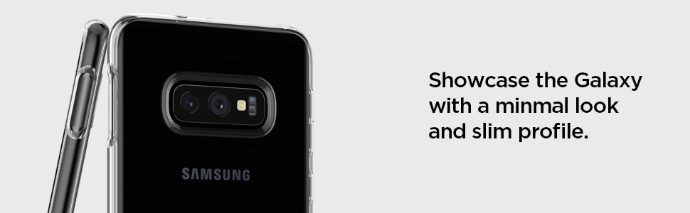 SPIGEN - Samsung Galaxy S10e Case Liquid Crystal, Crystal Clear (609CS25833)