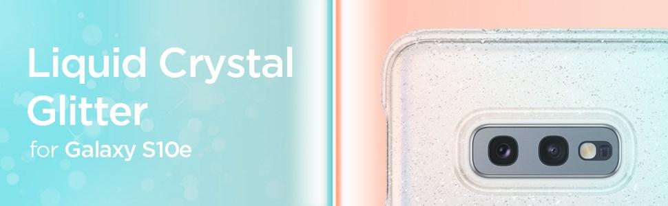SPIGEN - Samsung Galaxy S10e Case Liquid Crystal, Glitter Crystal (609CS25834)