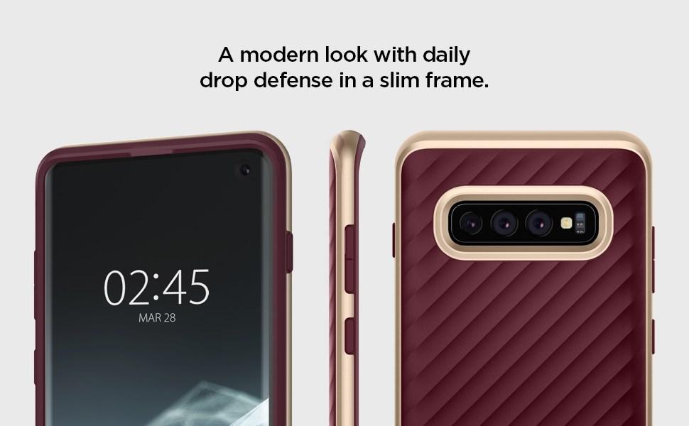 SPIGEN NEO HYBRID Samsung Galaxy S10 - Burgundy (605CS25810)