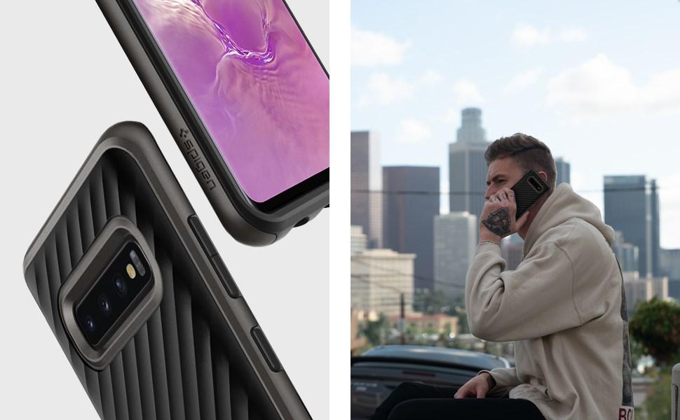 SPIGEN NEO HYBRID Samsung Galaxy S10+ - Gunmetal (606CS25774)