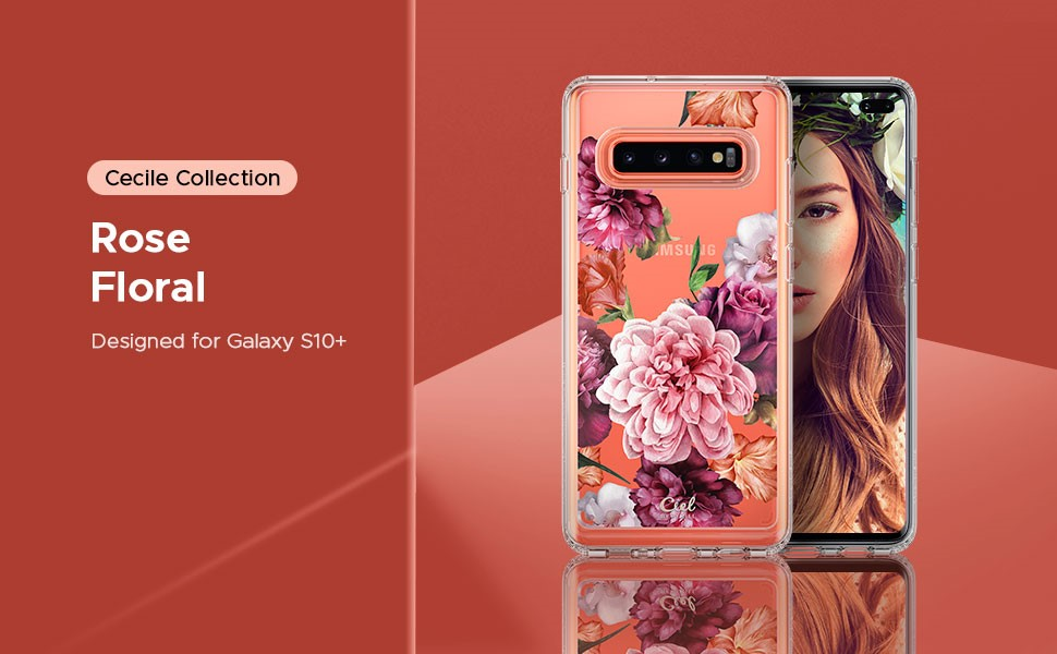 SPIGEN Ciel Samsung Galaxy S10+ Rose Floral (606CS25788)