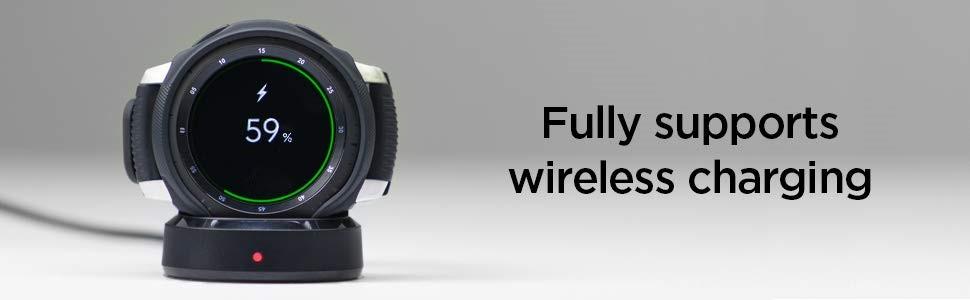 SPIGEN Liquid Air Galaxy Watch 46mm Black (603CS25100)
