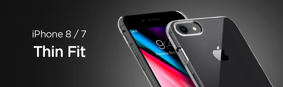 SPIGEN - Apple iPhone 7/8 Thin Fit Crystal Clear (042CS20934)