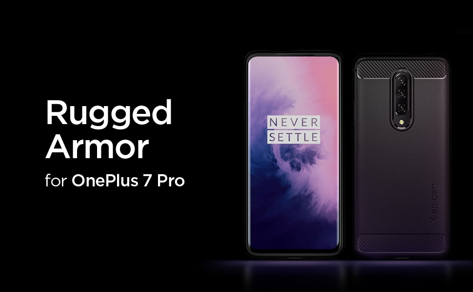 SPIGEN RUGGED ARMOR ONEPLUS 7 PRO MATTE BLACK (K09CS26390)