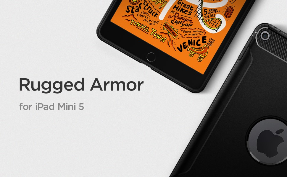 SPIGEN RUGGED ARMOR IPAD MINI 5 2019 BLACK (051CS21447)
