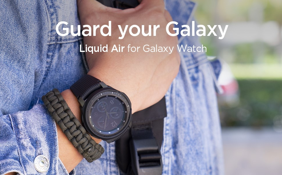 SPIGEN LIQUID AIR GALAXY WATCH 42MM BLACK (600CS24585)