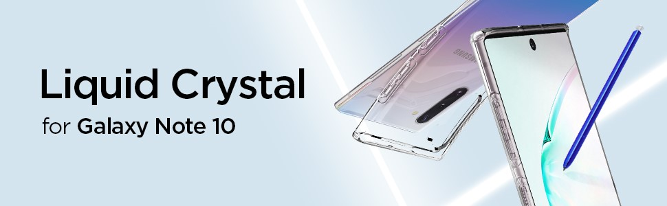 SPIGEN - Liquid Crystal, Samsung Galaxy Note 10, Clear (628CS27370)