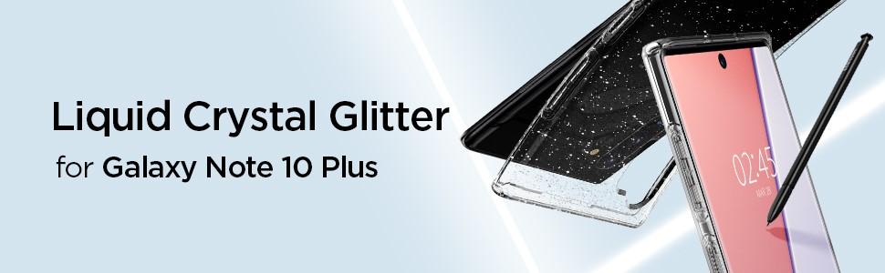 SPIGEN - Liquid Crystal, Samsung Galaxy Note 10+, Glitter (627CS27328)