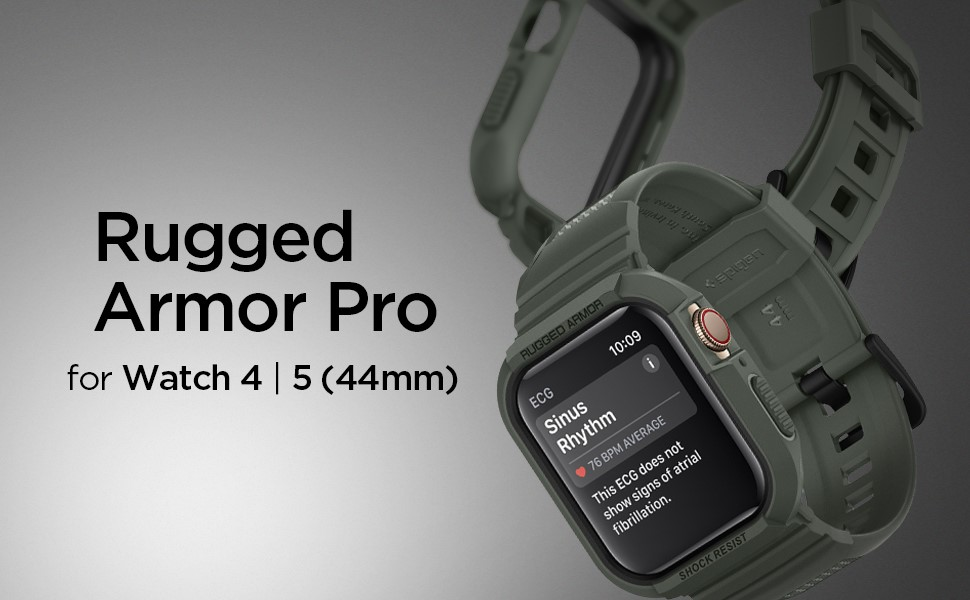 "SPIGEN RUGGED ARMOR ""PRO"" APPLE WATCH 4 (44MM) MILITARY GREEN (062CS26016)"