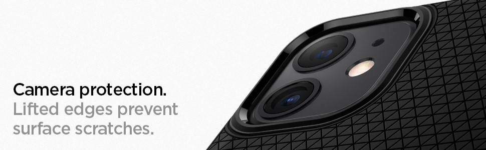 SPIGEN - Apple iPhone 11 Case Liquid Air , Matte Black (076CS27184)