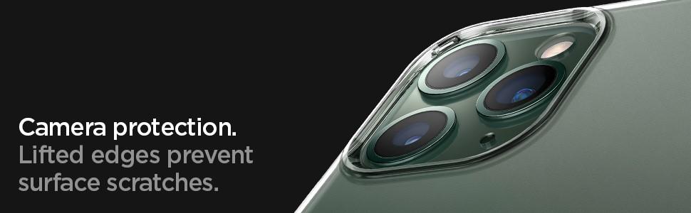 SPIGEN - Apple iPhone 11 Pro Case Liquid Crystal, Clear (077CS27227)