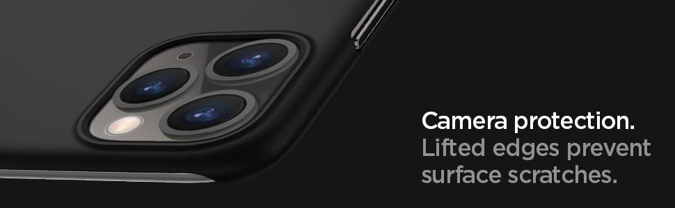 SPIGEN - Apple iPhone 11 Pro Case Thin Fit Classic, Black (077CS27450)