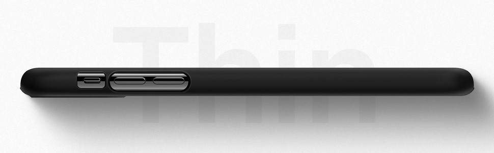 SPIGEN - Apple iPhone 11 Pro Max Case Thin Fit , Black (075CS27127)