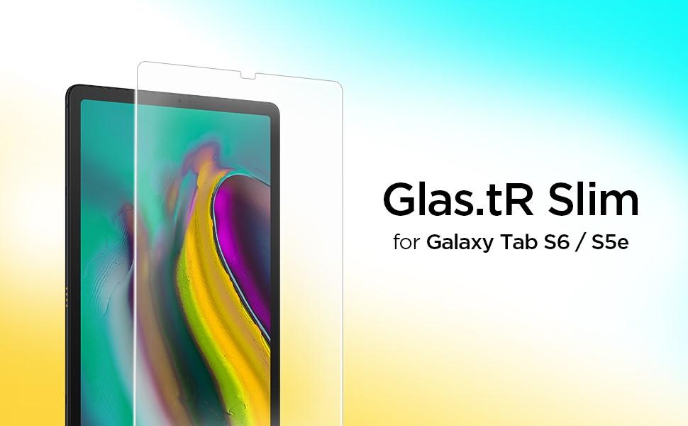 "SPIGEN -Screen Protector Glas.TR Slim, Samsung Galaxy Tab S5e 10.5"" 2019/ Tab S6 10.5"" (613GL26188)"