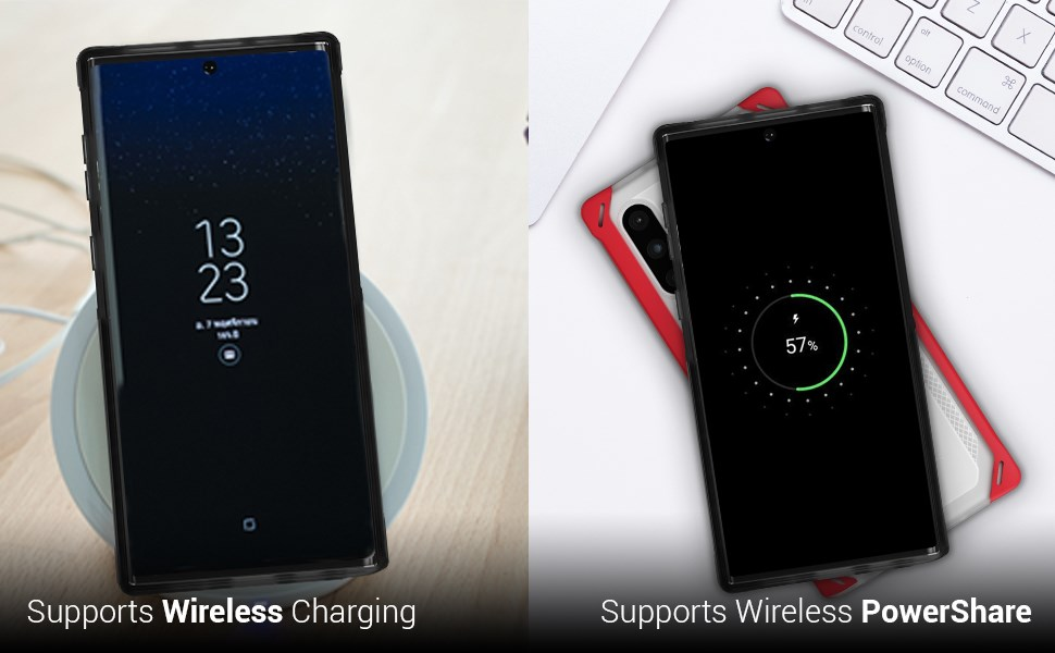 Ghostek - Samsung Galaxy Note 10 Case Cloak 4 Series, Red (GHOCAS2254)
