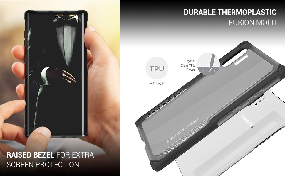 Ghostek - Samsung Galaxy Note 10+ Case Cloak 4 Series, Pink (GHOCAS2260)