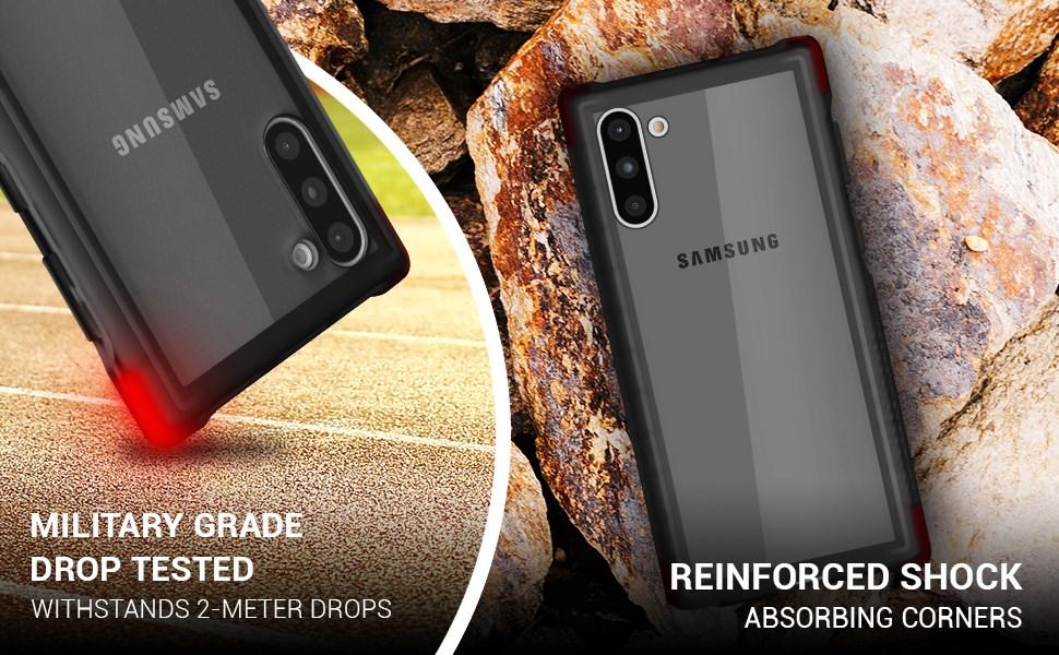 Ghostek - Samsung Galaxy Note 10 Case, Covert 3 Series, Black (GHOCAS2270)