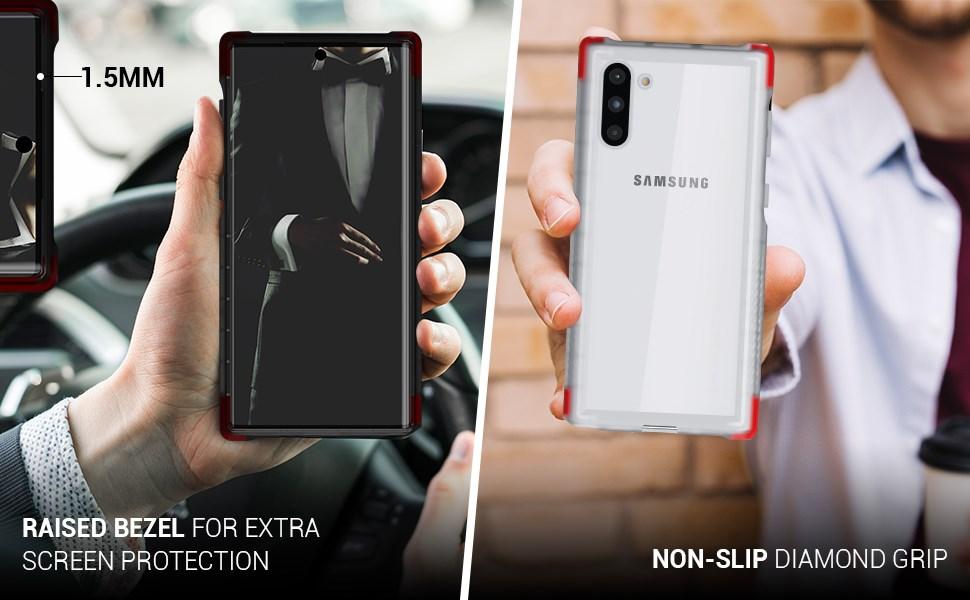 Ghostek - Samsung Galaxy Note 10 Case, Covert 3 Series, Pink (GHOCAS2272)
