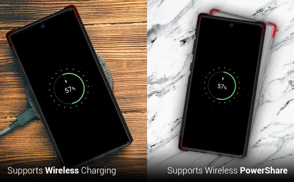Ghostek - Samsung Galaxy Note 10+ Case, Covert 3 Series, Black (GHOCAS2273)