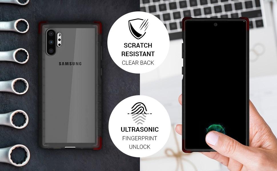 Ghostek - Samsung Galaxy Note 10+ Case, Covert 3 Series, Pink (GHOCAS2275)