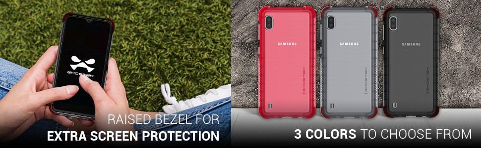 Ghostek - Samsung Galaxy A10 Case, Covert 3 Series, Pink (GHOCAS2212)