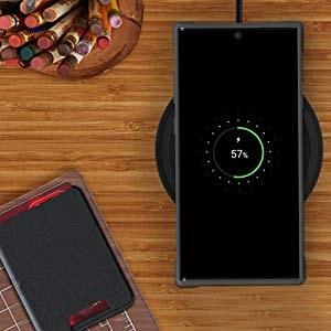 Ghostek - Samsung Galaxy Note 10 Wallet Case Exec 4 Series, Black (GHOCAS2285)