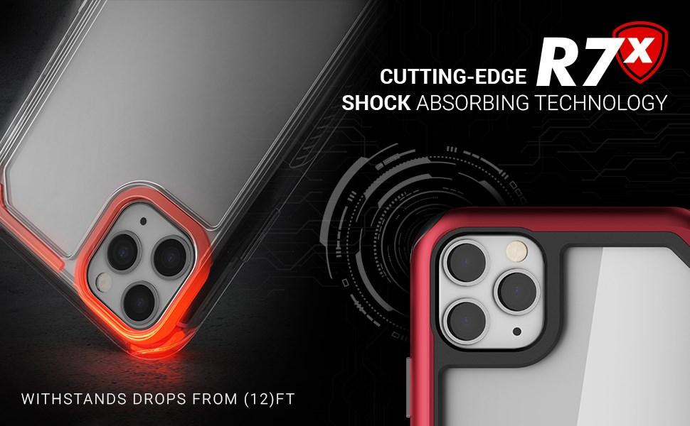 Ghostek - Apple iPhone 11 Pro Case Atomic Slim 3 Series, Red (GHOCAS2227)