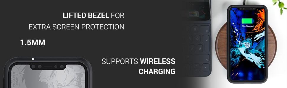 Ghostek - Apple Iphone 11 Case Iron Armor Series 3, Black (GHOCAS2294)