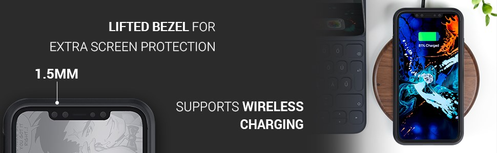 Ghostek - Apple Iphone 11 Pro Max Case Iron Armor Series 3, Black (GHOCAS2297)