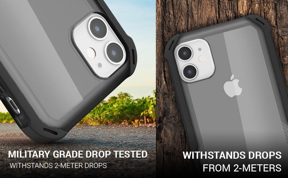 Ghostek - Apple iPhone 11 Case Cloak 4 Series, Black (GHOCAS2245)