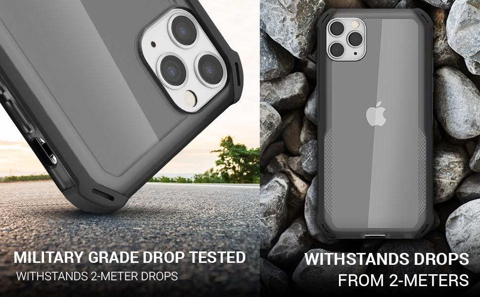 Ghostek - Apple iPhone 11 Pro Max Case Cloak 4 Series, Red (GHOCAS2250)