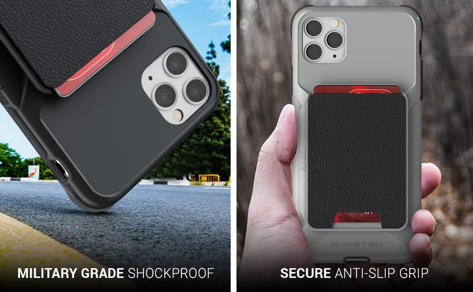 Ghostek - Apple iPhone 11 Pro Max Wallet Case Exec 4 Series, Pink (GHOCAS2284)