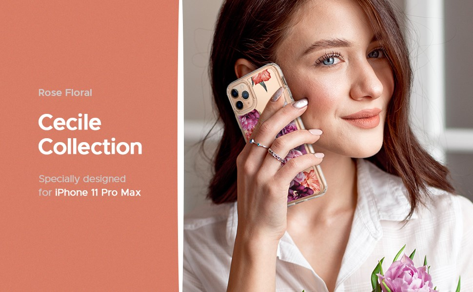 SPIGEN CIEL IPHONE 11 PRO MAX ROSE FLORAL (075CS27166)